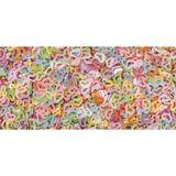 Flitre - konfety dúhové srdiečka 4mm 15g - farebný mix