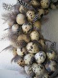 Polystyrénové vajíčka 15ks 3,5cm - prepeličie