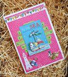 Scrapbookové papiere 36ks - Beach Life - trblietavé