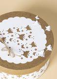 Magnetická vysekávačka papiera 40mm - motýle