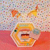 Plastové gombíky mix 60ks - Make a Wish