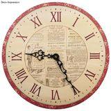 Sada šablón na výrobu hodín - rímske čísla