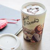 Bambusový eko kávový pohár na dotvorenie 500ml
