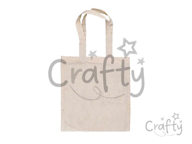cef6760c58 crafty.sk - Bavlnená taška 42x38cm - dlhé rúčky
