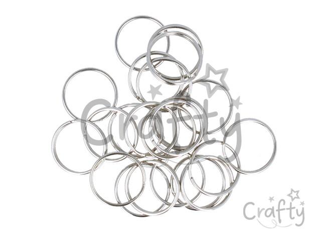 crafty.sk - Kovové krúžky na kľúčenku - 25mm 8b8f0844f88