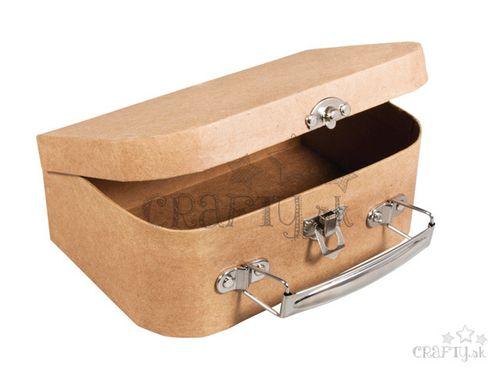 Kufrík z Papier-mâché - 18x12cm
