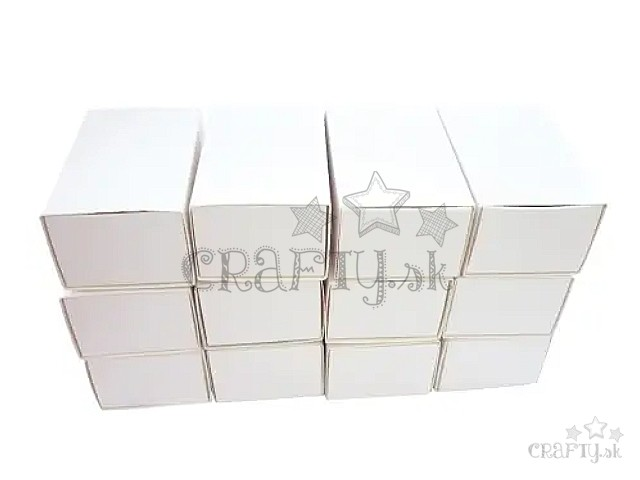 17778055d crafty.sk - Papierové krabičky zápalkové 12ks - veľké