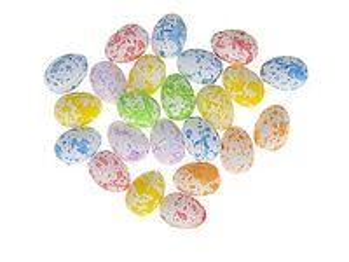 Polystyrénové mini vajíčka 5cm - fľakaté pastelové