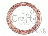 Bižutérny drôt 0,6mm - medený