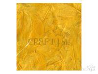 Dekoračné aranžérske pierka 10g - žlté