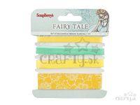 Dekoračné stužky 4x1m - Fairy tale