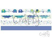 Dekoračné Washi lepiace pásky 4x5m - baby boy