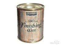 Dokončovací vosk 125ml - hnedý