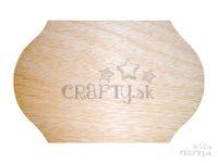 Drevená krojená doštička 25x39cm