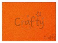 Filc 3mm - 42x60cm - oranžový