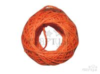 Konopná niť 20m - oranžová