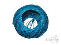 Konopná niť 20m - tyrkysovo modrá