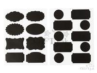 Kreatívne tabuľové nálepky - štítky