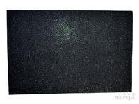 Machová guma MOOSGUMMI s glitrami - čierna