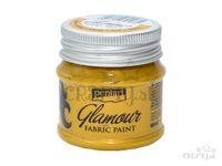 Metalická farba na textil GLAMOUR 50ml - zlatá