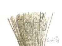 Metalický žinilkový drôt 6mm - perleťovo biely