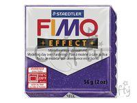 Modelovacia hmota FIMO Effect 56g - fialová s trblietkami