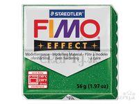 Modelovacia hmota FIMO Effect 56g - zelená s trblietkami