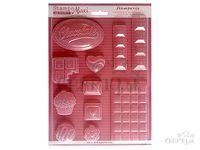 Odlievacia forma A4 - čokoláda