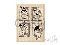 Pečiatka - vianočné známky
