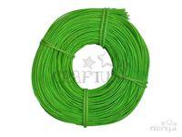 Pedig, ratanové prúty 100g 1,5mm - jablkovo zelená