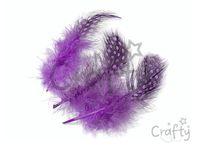 Pierka perličky 20ks - fialové