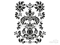 Šablóna A4 - arabeska - ornamenty