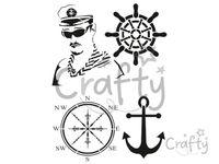 Šablóna A4 - námornícka, kapitán