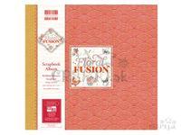 Scrapbook album - Floral Fusion - vlnky