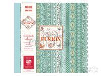 Scrapbook album - Floral Fusion - kvety