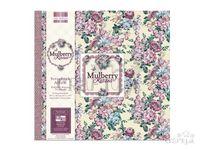 Scrapbook album - Mulberry Kisses