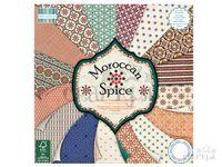 Scrapbookové papiere 48ks - Moroccan Spice - mozaikové