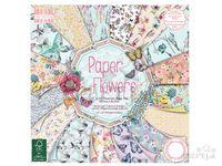 Scrapbookové papiere 48ks - Paper Flowers
