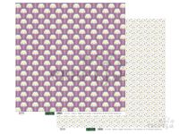 Scrapbookový papier 30x30cm - pastelové kvety