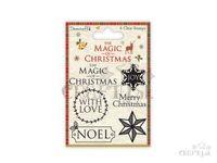 Silikónové pečiatky 6ks - Magic of Christmas