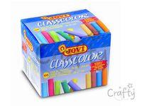 Školské kriedy farebné - 100ks