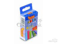 Školské kriedy farebné - 10ks