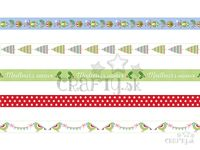 Washi pásky Vianočné - 15mm 5x5m