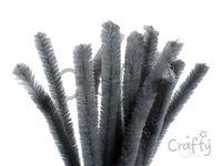Žinilkový drôt 15mm 30cm - sivý
