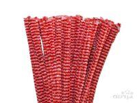 Žinilkový drôt 6mm 30cm DUO - červený