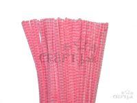 Žinilkový drôt 6mm 30cm DUO - ružový