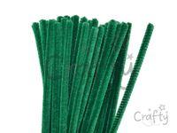 Žinilkový drôt 6mm 30cm - tmavý zelený