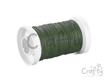 Aranžérsky drôt 0,35mm 100m - zelený