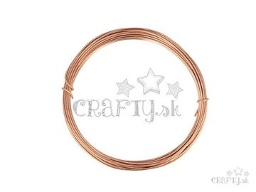 Aranžérsky drôt 1,5mm 5m - medený