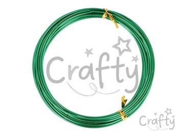 Aranžérsky drôt 1,5mm 5m - zelený
